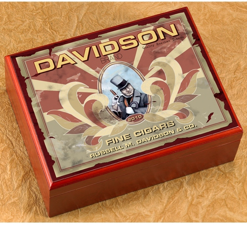 JDS Personalized Cigar Humidor