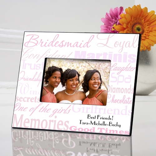JDS Personalized Bridesmaid Frame
