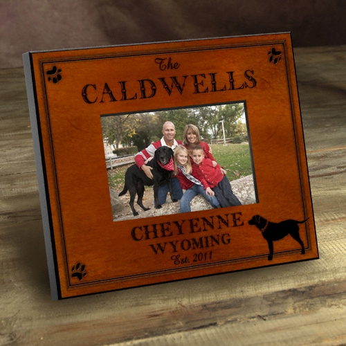 JDS Personalized Cabin Picture Frames