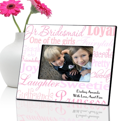 JDS Personalized Junior Bridesmaid Frames