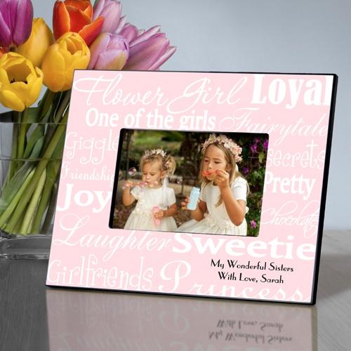 JDS Personalized Flower Girl Frames