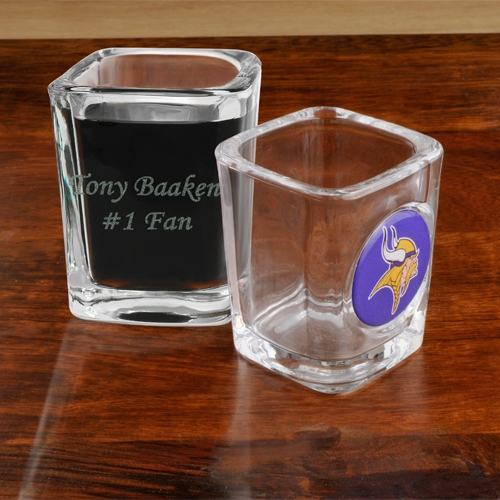JDS Personalized NFL Shot Glass