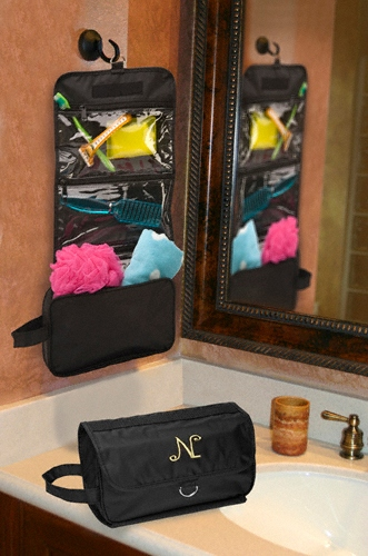 JDS Personalized Jet-Setter Hanging Toiletry Bag