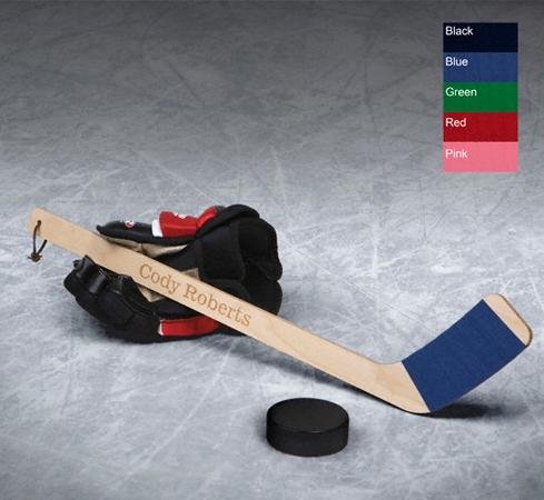JDS Personalized Mini Hockey Stick: Hat Trick
