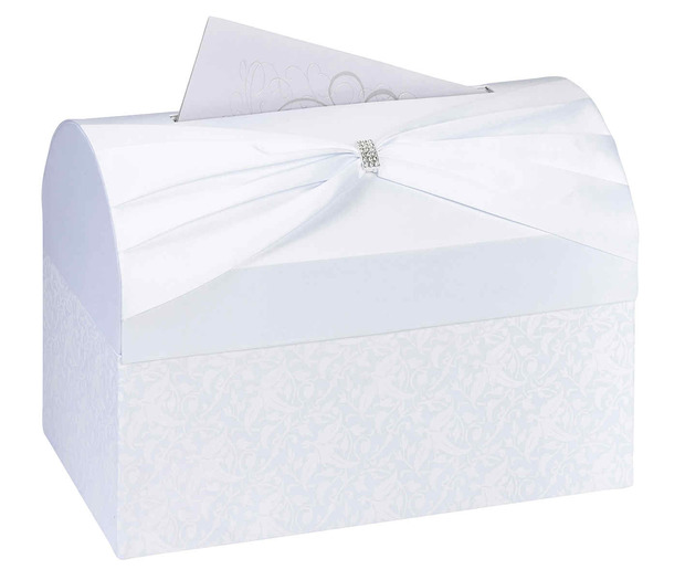 Lillian Rose White Card Box