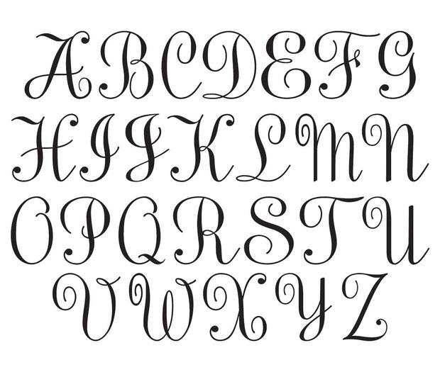 Lillian Rose Silver Rhinestone Monogram - A
