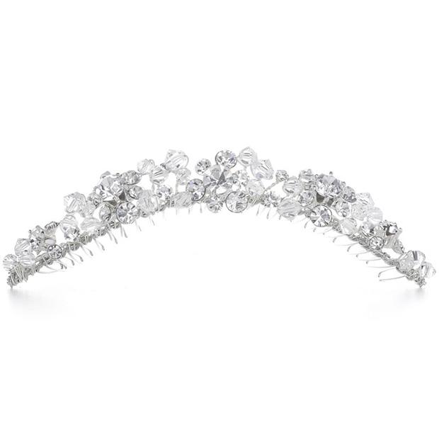 Mariell Swarovski Crystal Bridal Headpiece