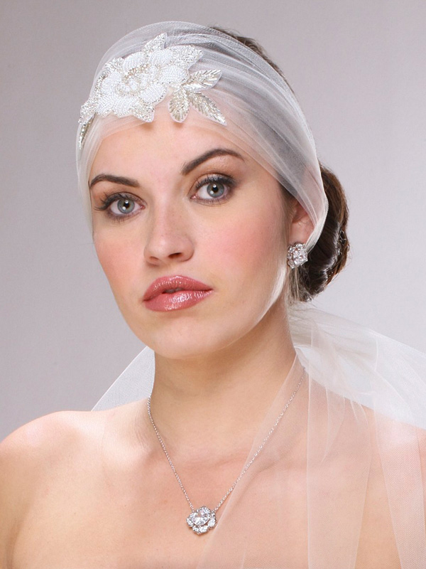 Mariell Lavish Cushion Cut Cubic Zirconia Wedding Earrings