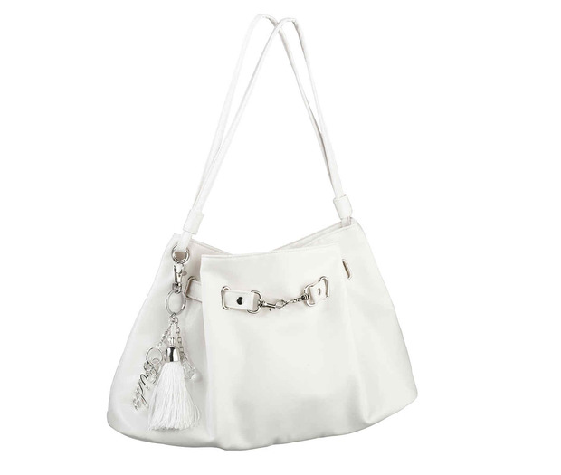 Lillian Rose Large Off-White Bride Purse