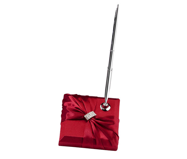 Lillian Rose Satin Sash Pen set - Red
