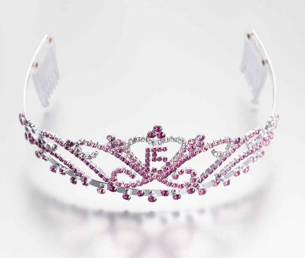 Lillian Rose Quince Anos Tiara - Pink