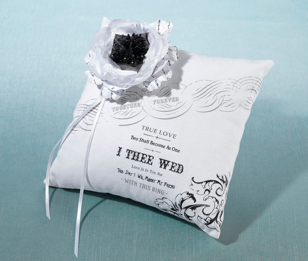 Lillian Rose True Love Ring Pillow