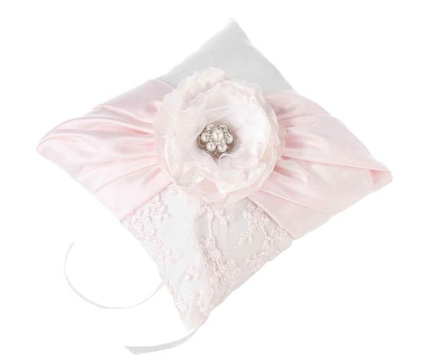 Lillian Rose Blush Pink Ring Pillow