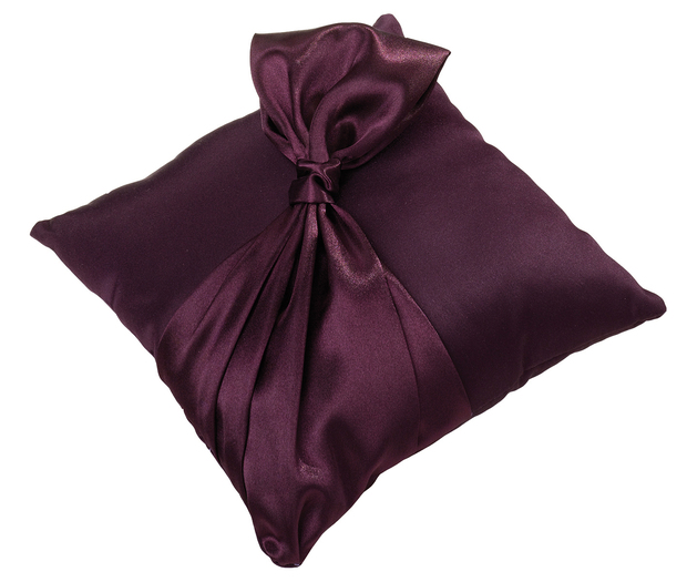 Lillian Rose Plum Ring Pillow