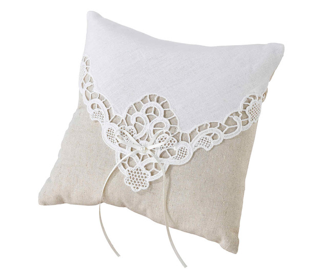 Lillian Rose Country Lace Ring Pillow