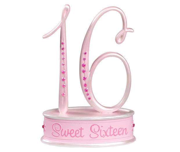 Lillian Rose Sweet Sixteen Caketop