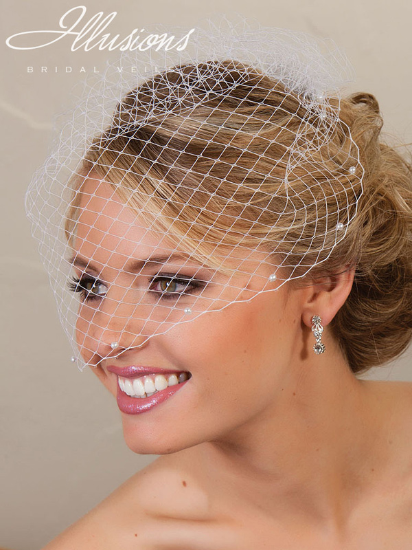 Illusions Bridal Visor Veils VS-780