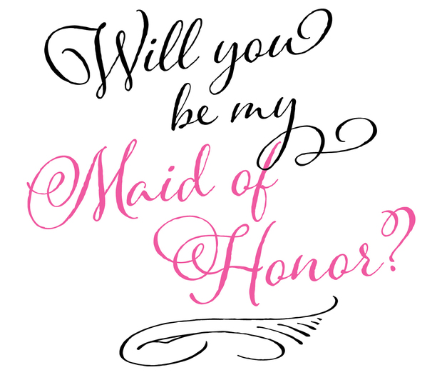 Lillian Rose Maid Of Honor Wine Bag