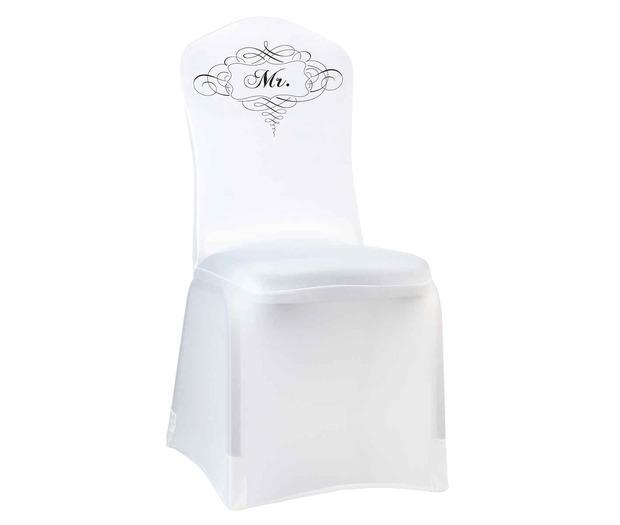 Lillian Rose Mr. Chair Cover White
