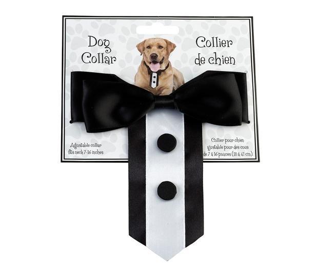 Lillian Rose Tuxedo Dog Collar