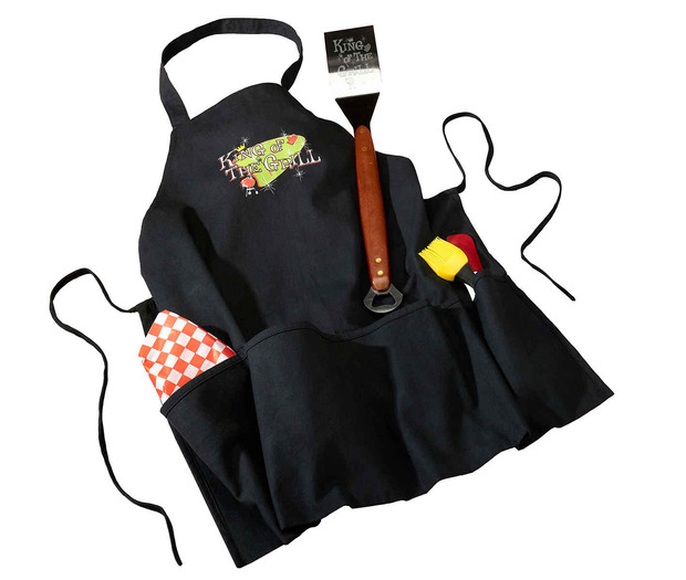 Lillian Rose King of The Grill Apron