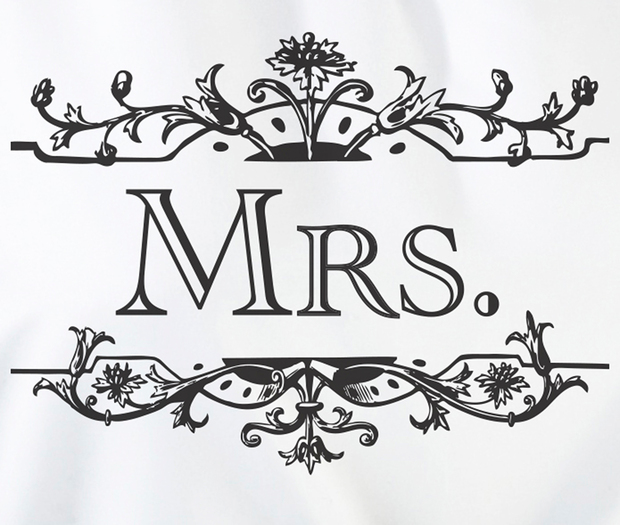 Lillian Rose Mrs. Kitchen Apron - White