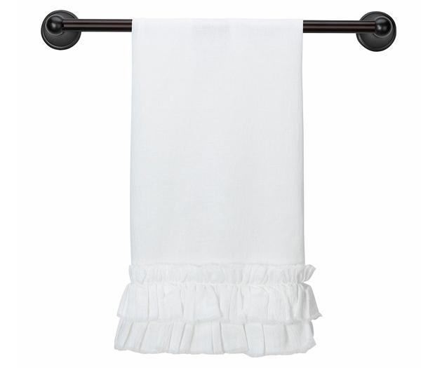 Lillian Rose White Kitchen Towel - Blank