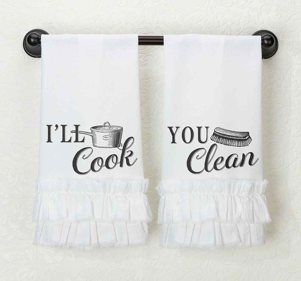 Lillian Rose I'll Cook Kitchen Towel