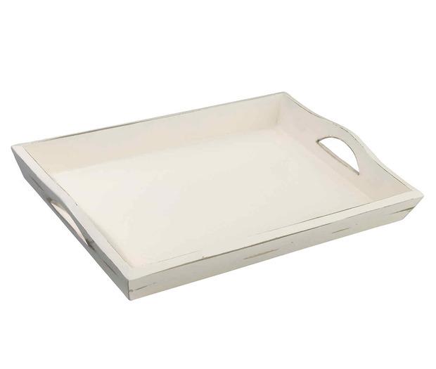 Lillian Rose Antique White Tray - Blank