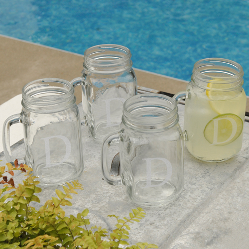 JDS Personalized Classic Jar Glass Set
