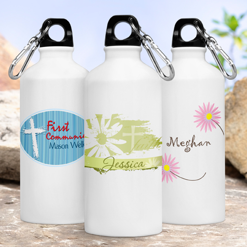 JDS Personalized Inspirational Water Bottles