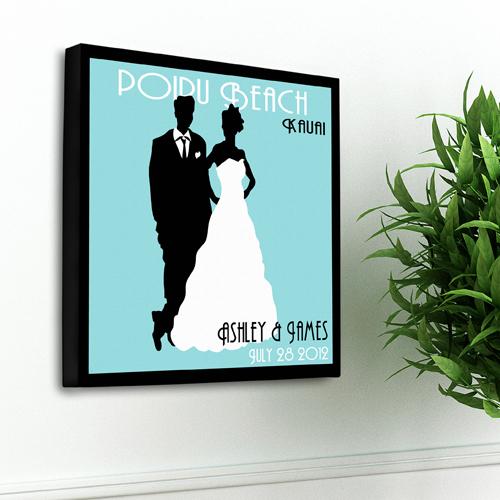 JDS Personalized Couples Studio Canvas