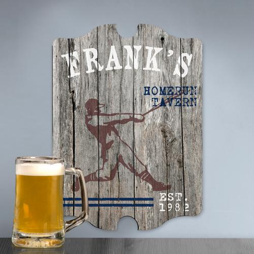JDS Personalized Vintage Sports Man Cave Pub Sign