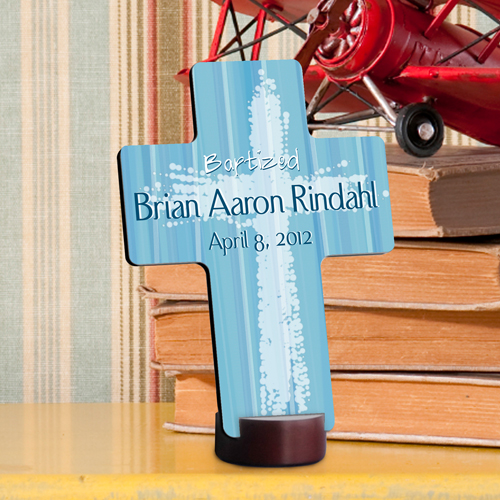 JDS Personalized Baptismal Cross