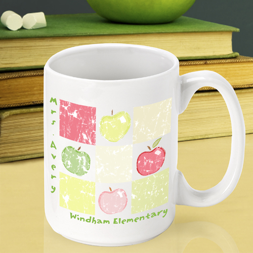 JDS Personalized Teacher Coffee Mugs