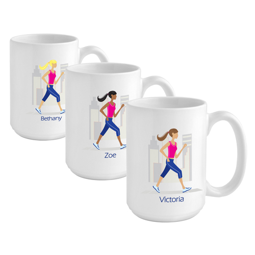 """JDS Personalized """"Go-Girl"""" Coffee Mug"""