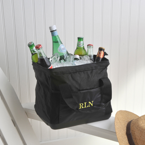 JDS Personalized Large Mouth Cooler Bag