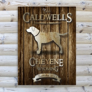 JDS Canvas Prints: Rustic Wood Cabin