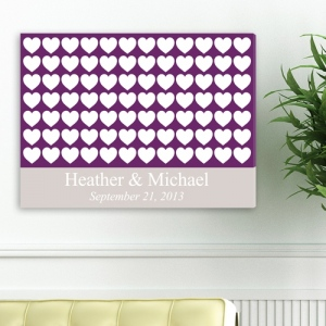 JDS Personalized Canvas: Heartful Wishes