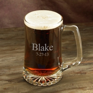 JDS Personalized Sports Mug: 25 oz.