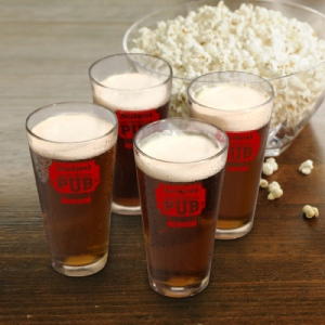 JDS Personalized Pub Glass Set