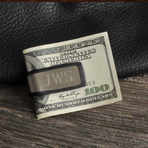 JDS Personalized Sporty Fit Money Clip