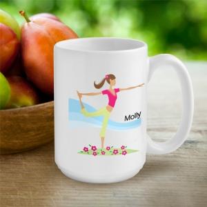 """JDS Personalized Coffee Mug: """"Go-Girl"""""""