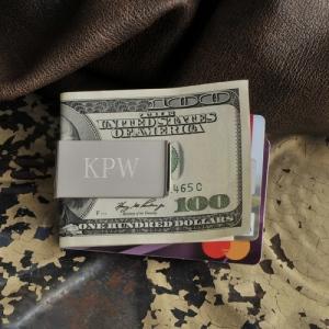 JDS Personalized Money Clip: No-Slip