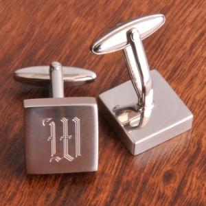 JDS Harrison Cufflinks: Silver
