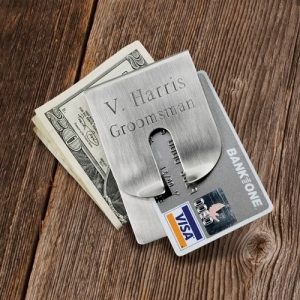 JDS Money Clip and Wallet: Harrison Clever