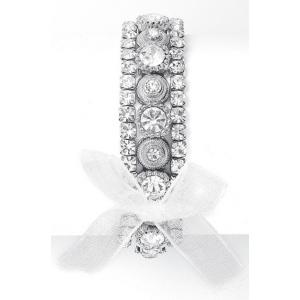 Mariell 3-Piece Layered Prom Stretch Bracelet Set