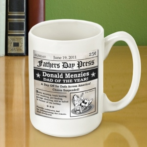 JDS Father's Day Headline Coffee Mug
