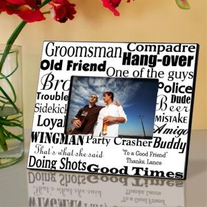 JDS Personalized Groomsman Frame