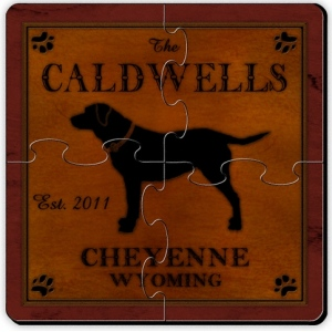 JDS Coaster Puzzle: Cabin Series